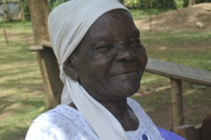 Cheeky smiles from 'Dana' (Grandma). This lady is amazing! So giving, joyful and strong for nearly a century young.